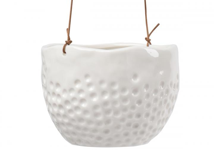 Dot design indoor hanging pot