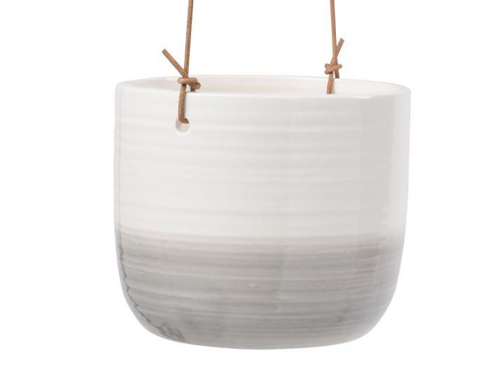 Ripple design indoor hanging pot
