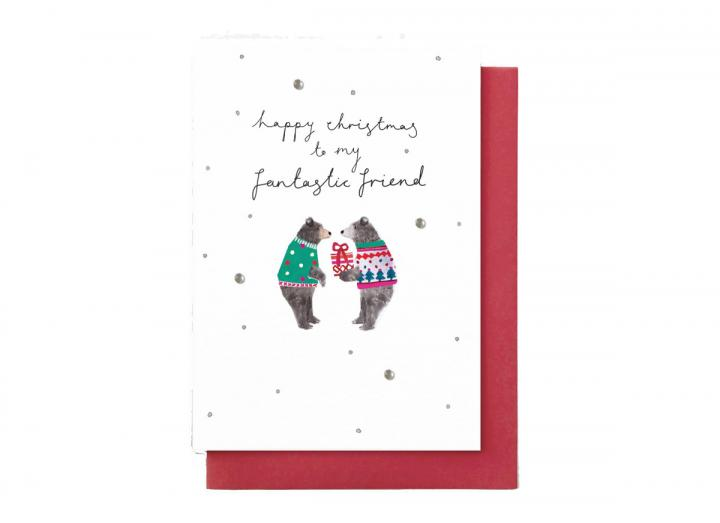 Happy Christmas to my fantastic friend card