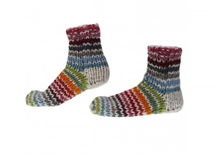 Hoxton stripe sofa socks