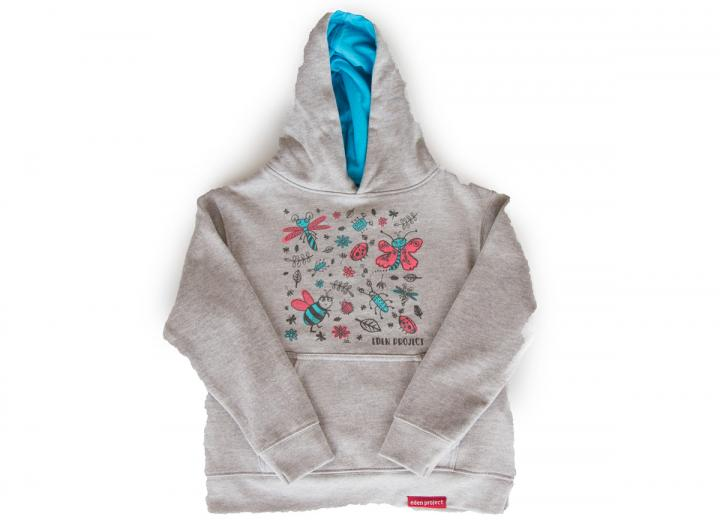 Kids hoodie bee and butterfly