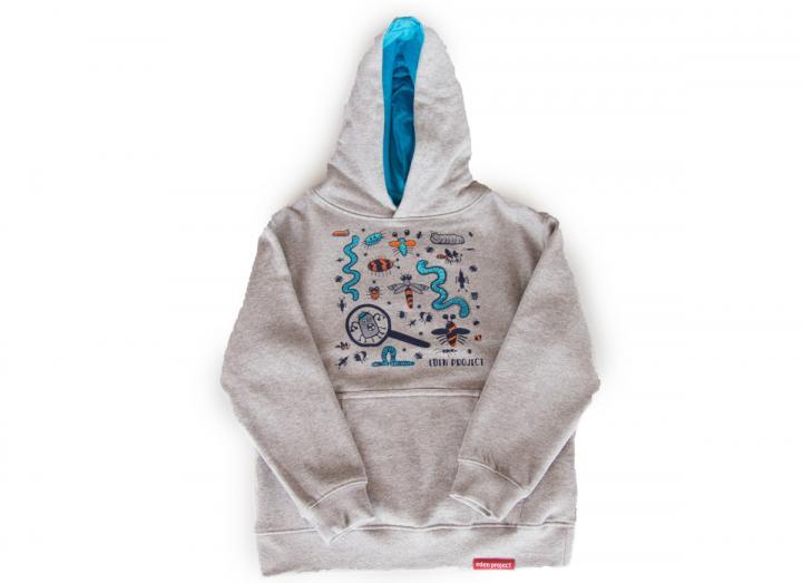 Kids hoodie bugs