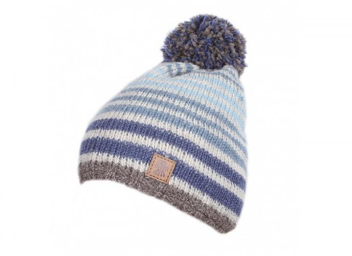 Kids Manhattan bobble beanie