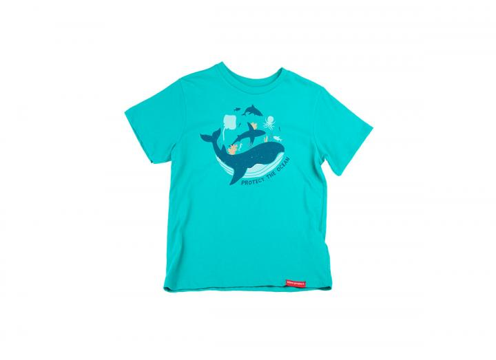 Kids protect the ocean t-shirt