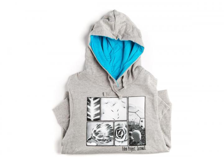 Ladies photographic print hoodie
