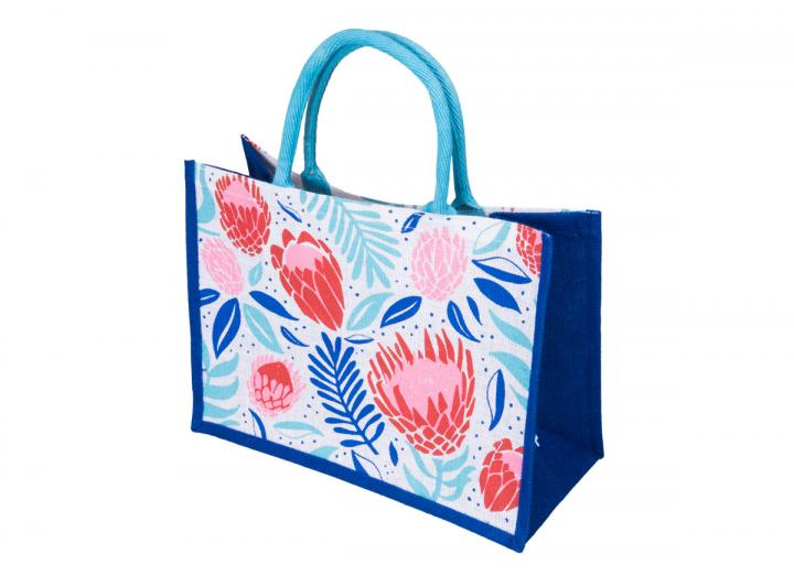 Large jute bag protea