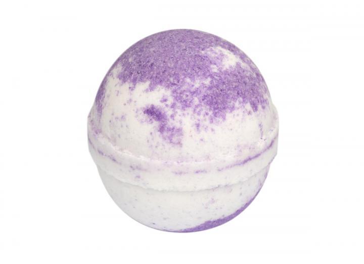 lavender & chamomile bath bomb