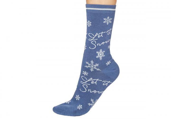 Let it snow socks