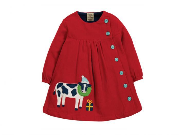Little bonnie button dress