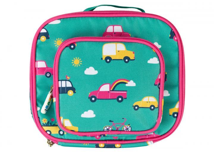 Lunch bag rainbow roads