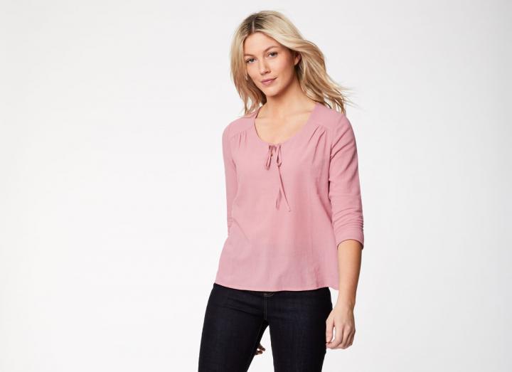 Magda organic cotton blouse