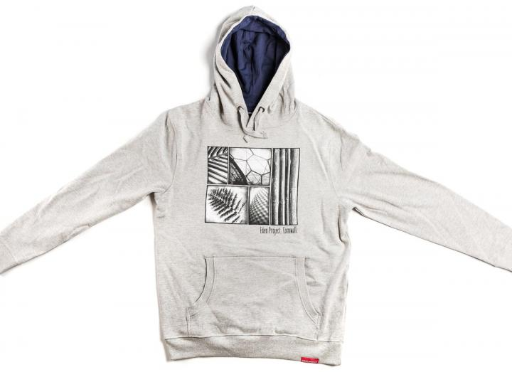 Mens photographic print hoodie