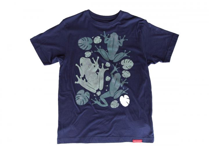 Men's tree frog t-shirt navy