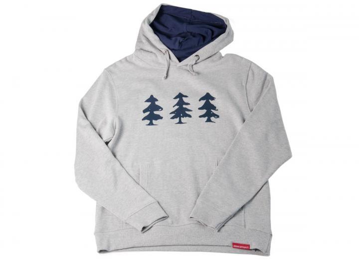 Mens tree print hoodie