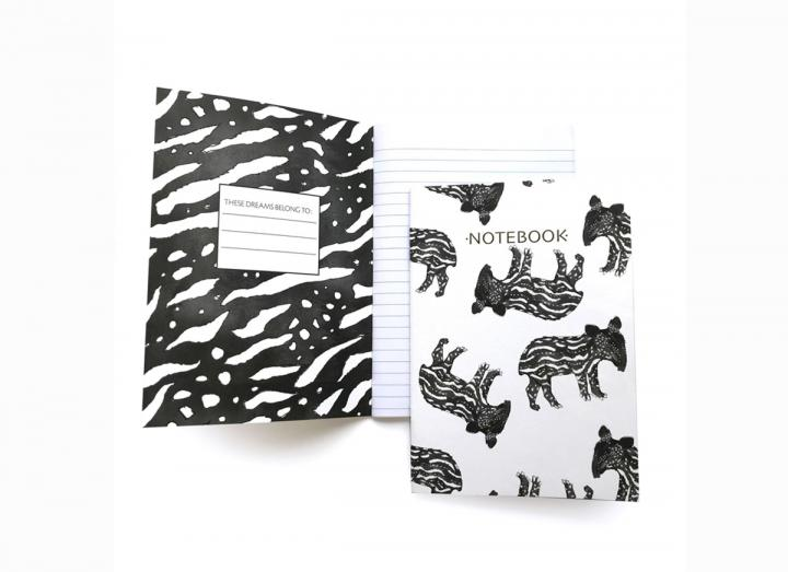 Notebook baby tapir
