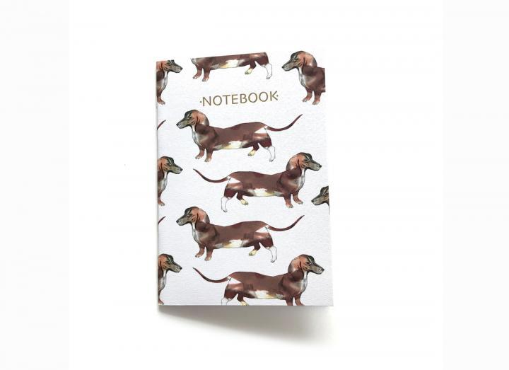 Notebook sausage dog