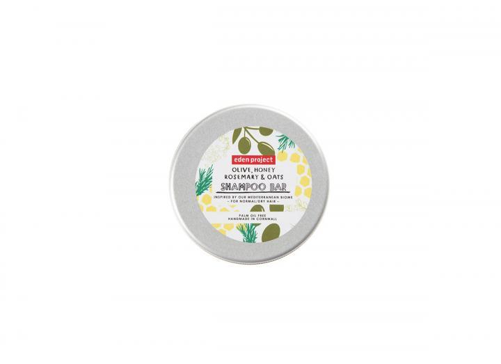 Olive, honey, rosemary & oats shampoo bar