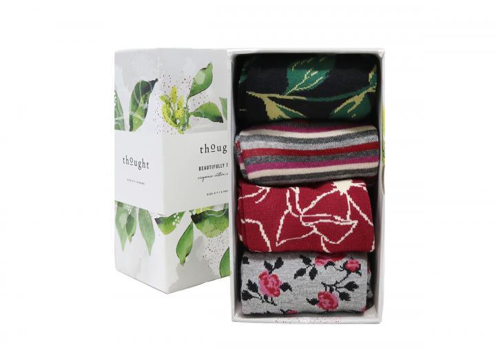 Orsella floral sock box