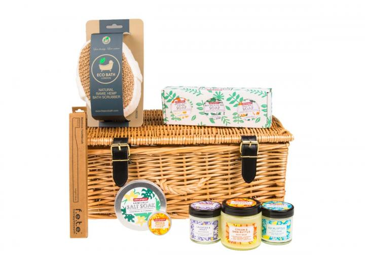 Pamper hamper, an Eden Project exclusive
