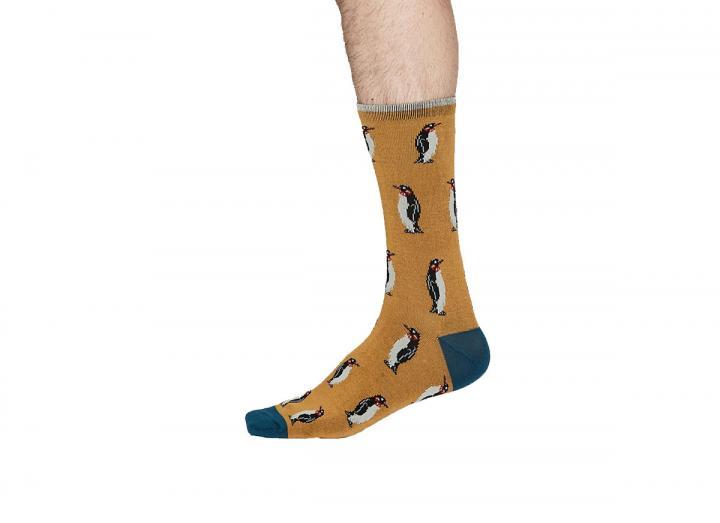 Penguin bamboo socks