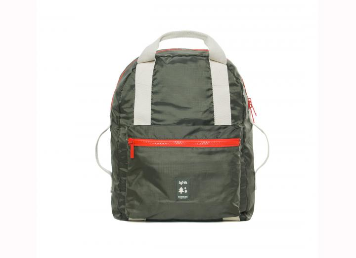 Pocket backpack olive
