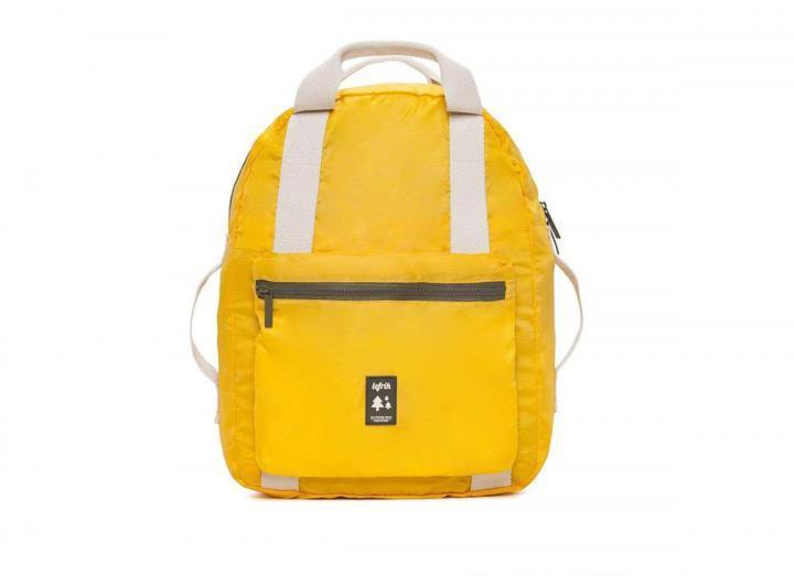 Pocket backpack yellow