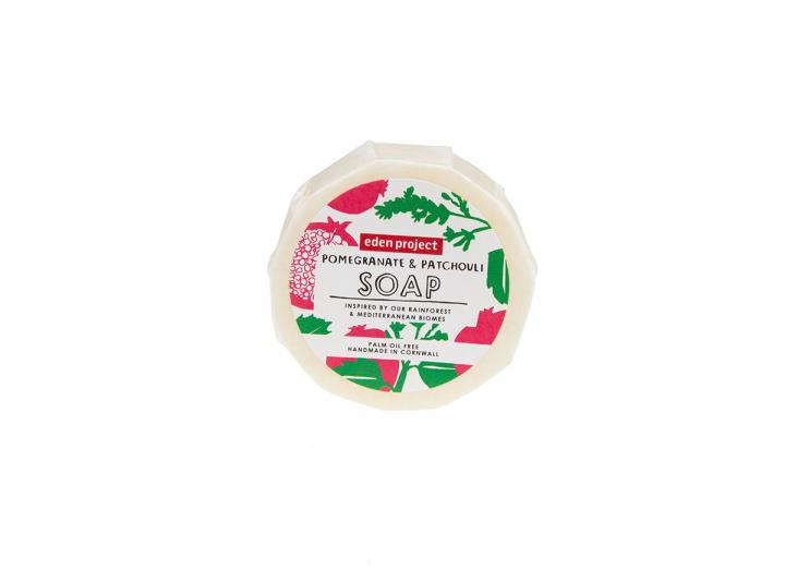Pomegranate & patchouli soap