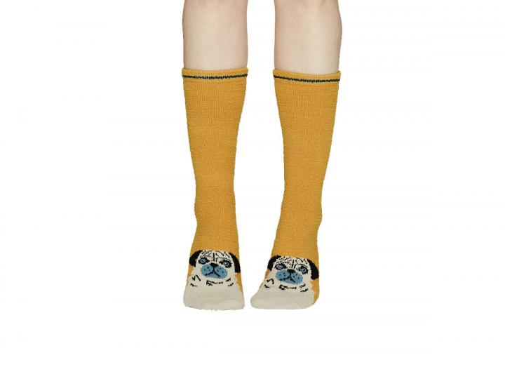 Rebecca fuzzy socks