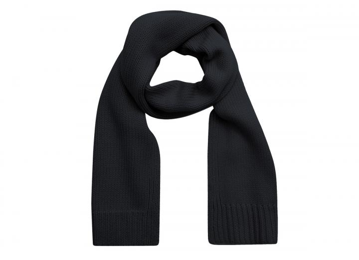 Rim merino wool scarf