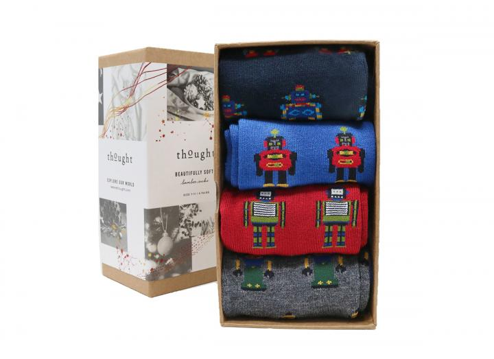 Robot sock box