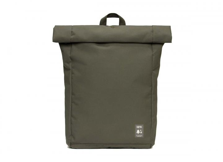 Roll backpack olive