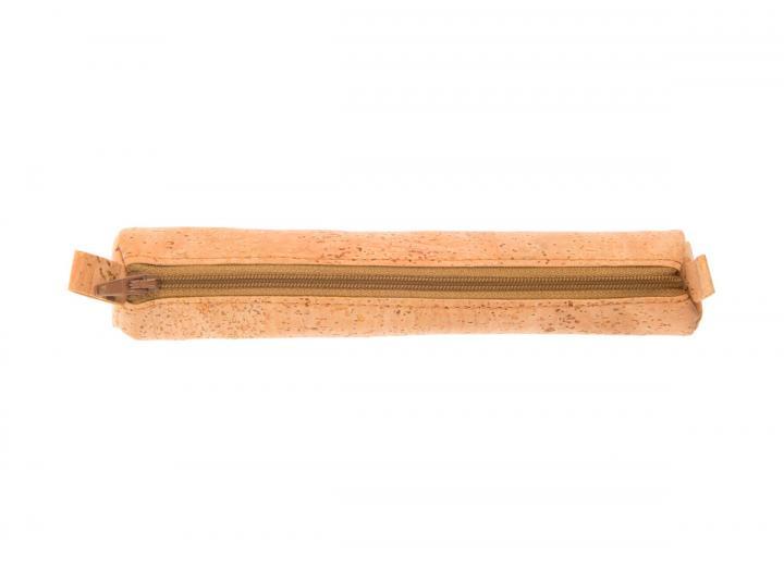 Round cork pencil holder