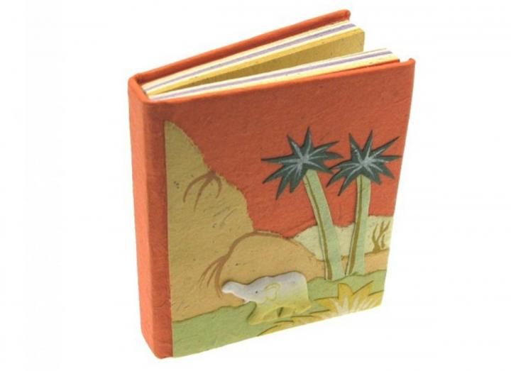 Small elephant poo notebook