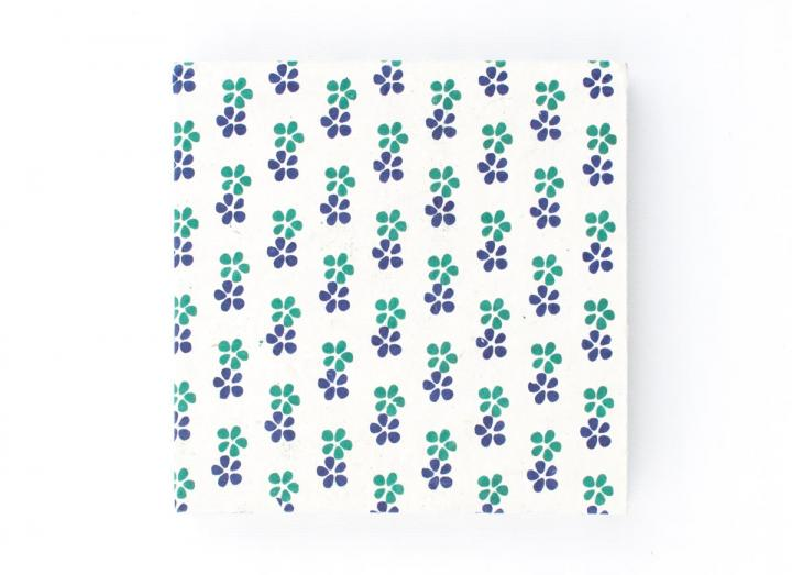 Small lokta journal flowers