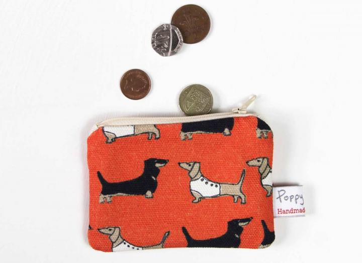 Small purse darling dachshunds