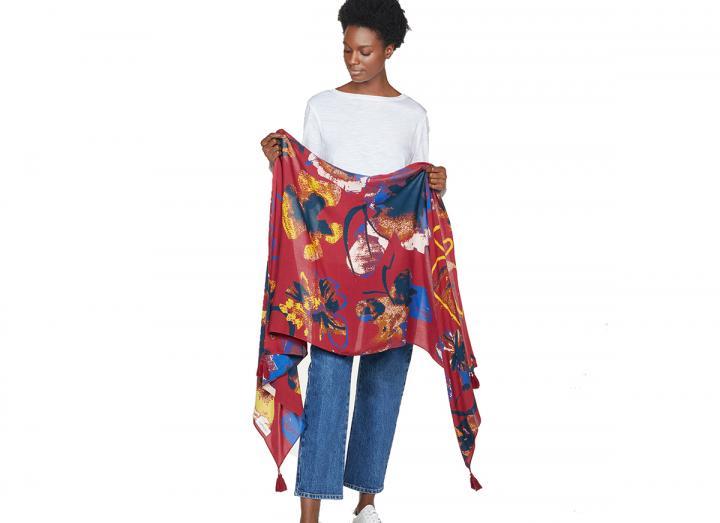 Tabitha shawl scarf
