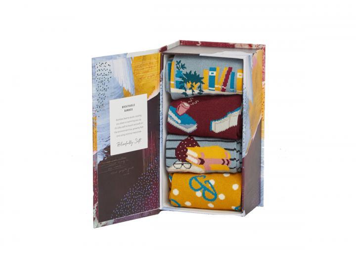 The reader sock box