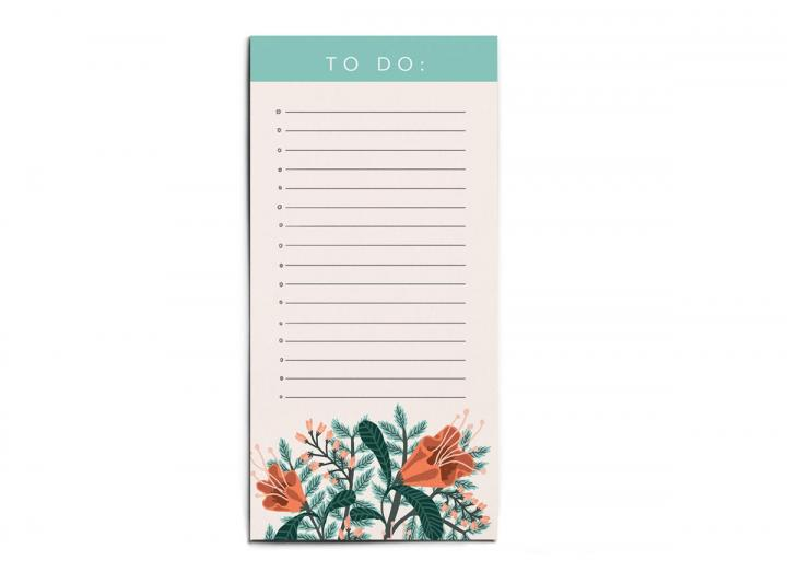 To do list floral