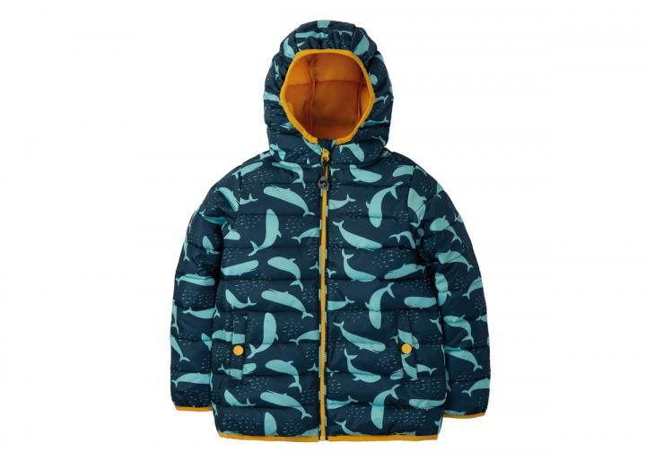 Toasty trail jacket whale