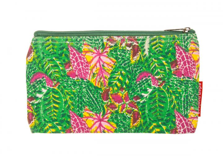 Make up bag tropical leaves