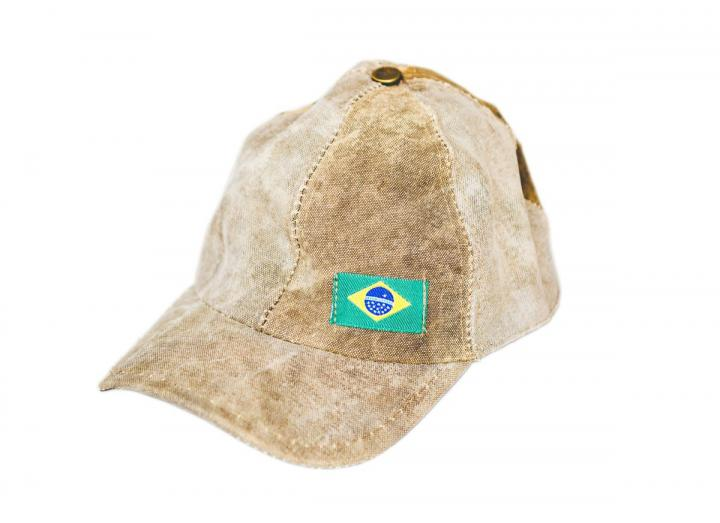 Truck tarp baseball cap