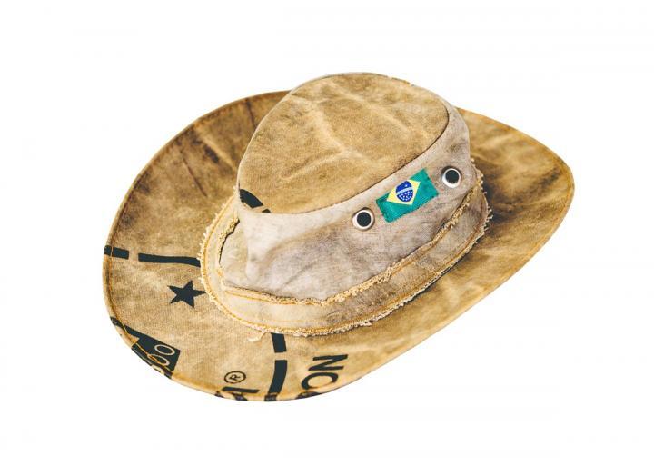 Truck tarp hat