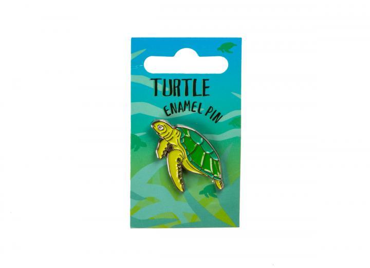 Turtle enamel pin badge