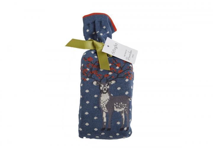 Winter deer socks in a bag