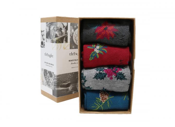 Christmas sock box