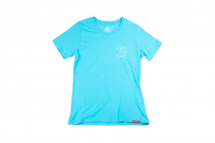 Women's hibiscus t-shirt