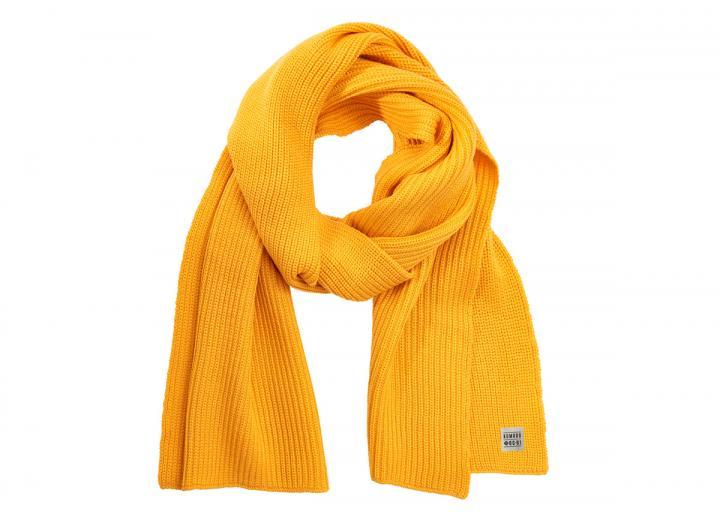Yin merino wool scarf marigold